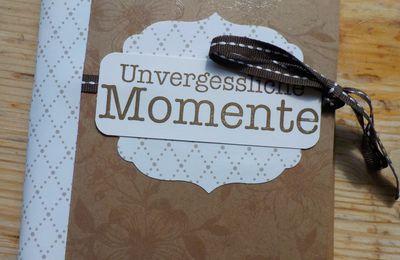"""Mini-Album """"Unvergessliche Momente"""""""