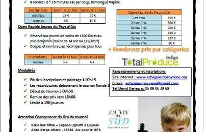 Réservez votre 14 mai pour le 12eme Rapide d'Aix-en-Provence !