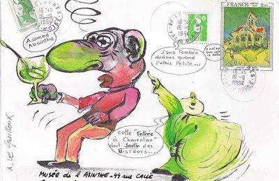 Absinthe et Mail Art