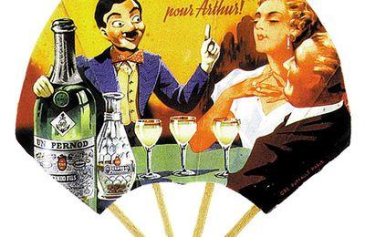 Éventails Pernod postérieurs à 1938