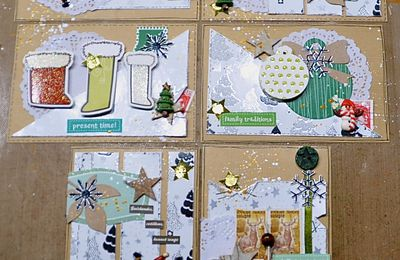 CARTERIE DE NOEL: THE ONE SHEET WONDER CARDS #2