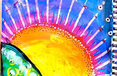 Art journal: j'ouvre les yeux sur #7 VIVE LE SOLEIL