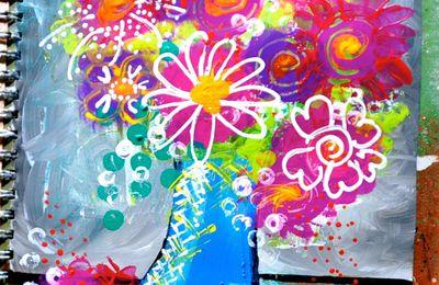 J'ouvre les yeux...Theme #10 le bouquet de fleurs