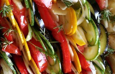 Tian de légumes du jardin