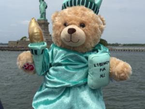Build a bear... la fabrique à nounours - NEW YORK