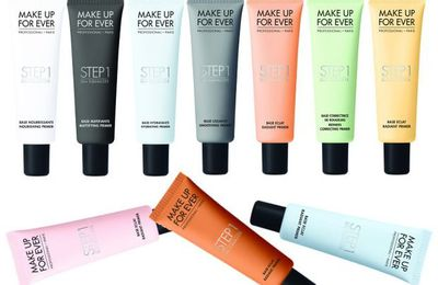 La base de teint Step 1 de Make Up For Ever, un top ou un flop ?