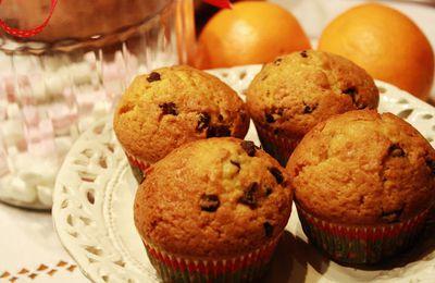 Muffins Orange-Chocolat