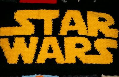 Tuto: Couverture Star Wars au crochet