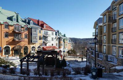 CANADA: Entre Clermoustier et le Mont Tremblant