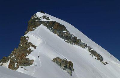 Allalinhorn - 4027 m / Hohlaubgrat