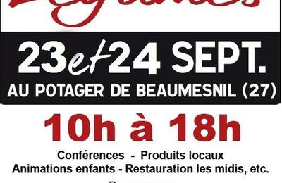 Prochain rdv!! Le Festival des 1001 légumes au Potager de Beaumesnil