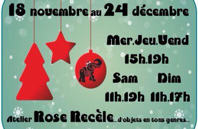 Le petit marché de Noël de l'atelier 4ème!! Du 18 novembre au 24 décembre