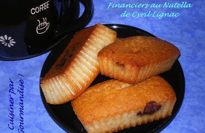 Financiers au Nutella de Cyril Lignac