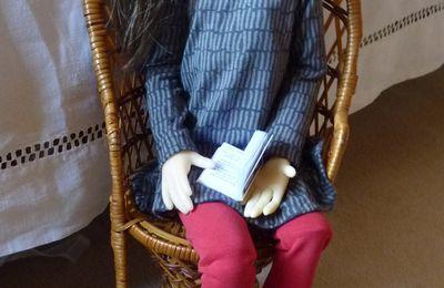 Amélie en tenue automnale