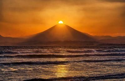 Voir le Fujisan depuis le mont Takao
