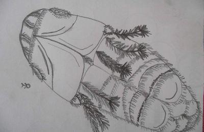 Un dessin de daïon