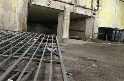 Sous sol des Halls St Louis (Brest).