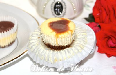 Cheesecake Cups au caramel