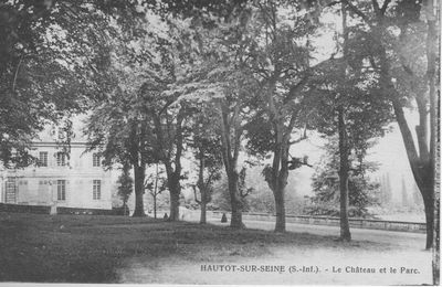Les propriétaires du château d'Hautot sur Seine de 1866 à 1922