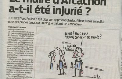 SO Gironde aujourd'hui...