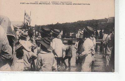 Programme de la Fête Nationale du 14 juillet 1907, Fort-de-France (Martinique)