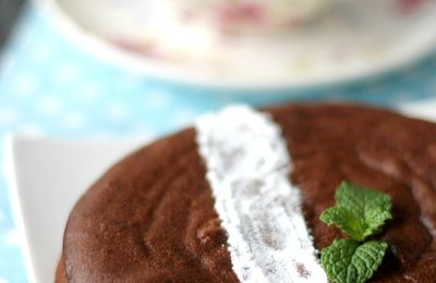 Gâteau after-eight (menthe-chocolat)