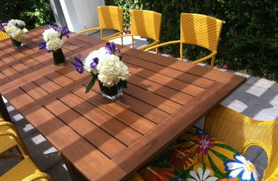 Top 5 Outdoor Table Styles