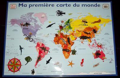Les continents et les animaux