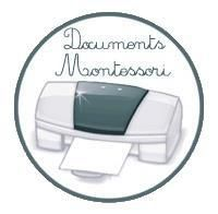 Les documents Montessori