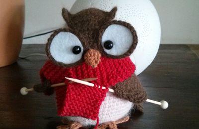 Ma chouette tricoteuse