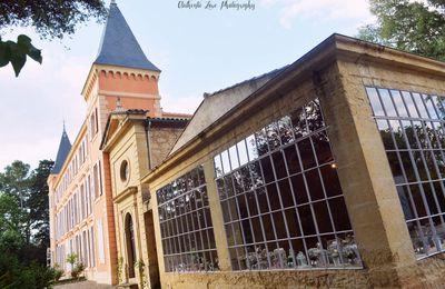 Photographe de mariage au Château de Roquelune