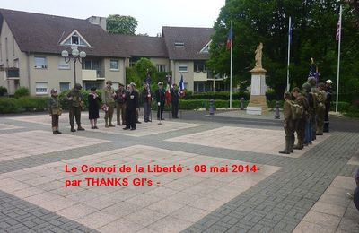 COMMEMORATIONS 2014 a CORNY SUR MOSELLE - MONUMENT