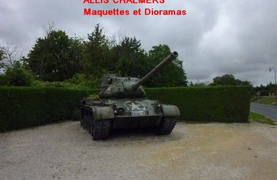 CHAR M47 PATTON de VALMY