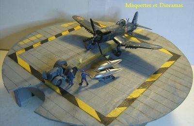 CORSAIR F4U-7 au 1/72 - ITALERI