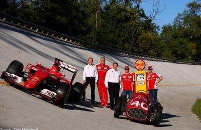 Shell prolonge de cinq ans avec Ferrari