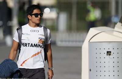 Rio Haryanto obtient le second baquet Manor