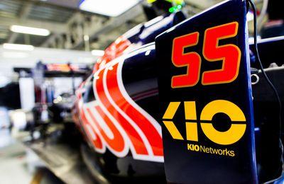 Kio Networks s'affiche chez Toro Rosso au Mexique