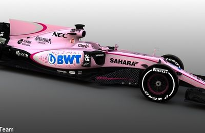 Sahara Force India passe au rose avec BWT