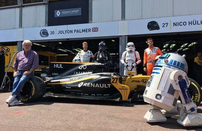 Star Wars fête ses 40 ans avec Renault à Monaco
