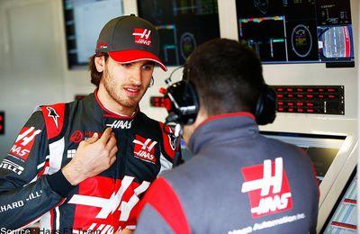 Antonio Giovinazzi prend ses marques chez Haas