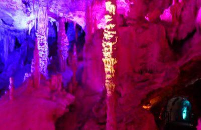 Visite de la grotte de la Salamandre (Gard) - avril 2014