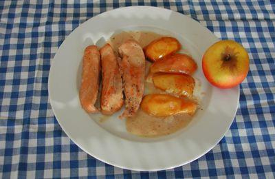 Recettes des régions : Poulet au cidre et aux pommes