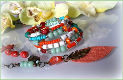 collection colorée bracelets été 2017