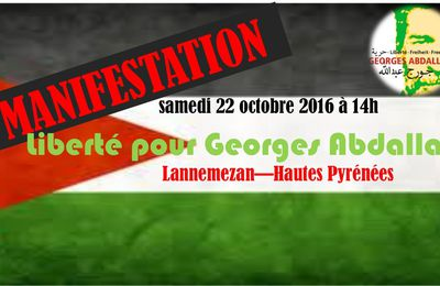 Georges Ibrahim Abdallah / Jean-Jacques Urvoas