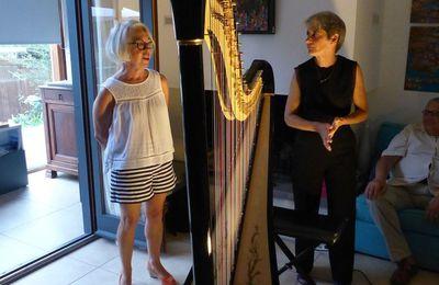 Catherine Baudichet à Cap Sittelle pour un concert intime