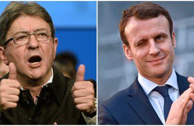 Macron ne remerciera jamais assez Mélenchon !
