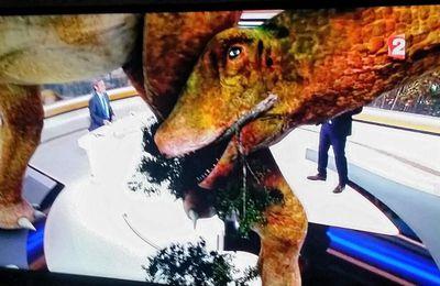 Un dinosaure à France 2