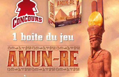 CONCOURS FB SUPER MEEPLE - Une boîte de AMUN-RE à gagner!