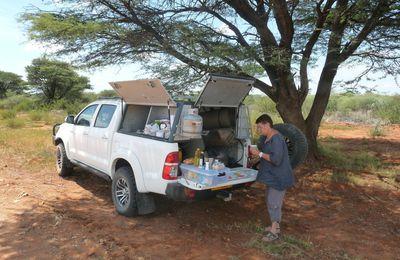 Premiers pas en Namibie