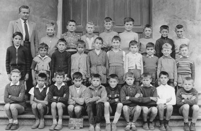 Photos de classes de l'école Wilson à Algrange - René HOFFBECK